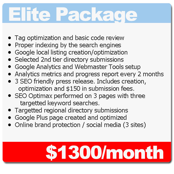 elite seo package